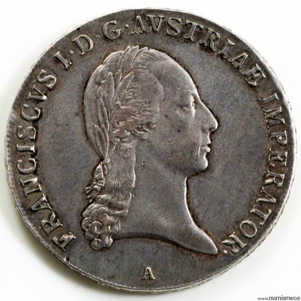 Autriche Thaler 1820 A