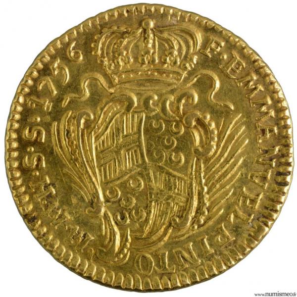 Malte 10 scudi 1756