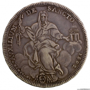 Vatican Pie VII Scudo 1802
