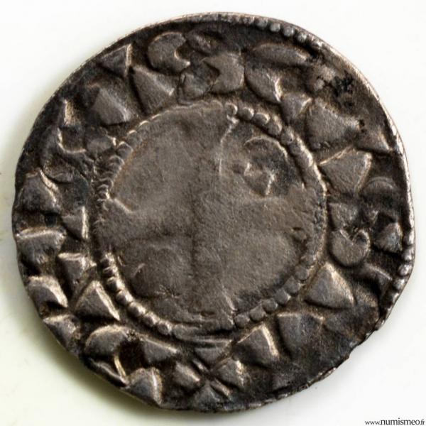Philippe I denier frappé à Dreux