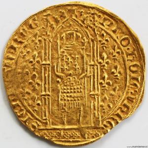 Provence Franc à pied de Jeanne de Naples