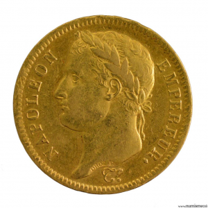 Napoleon I 40 francs 1812 Paris