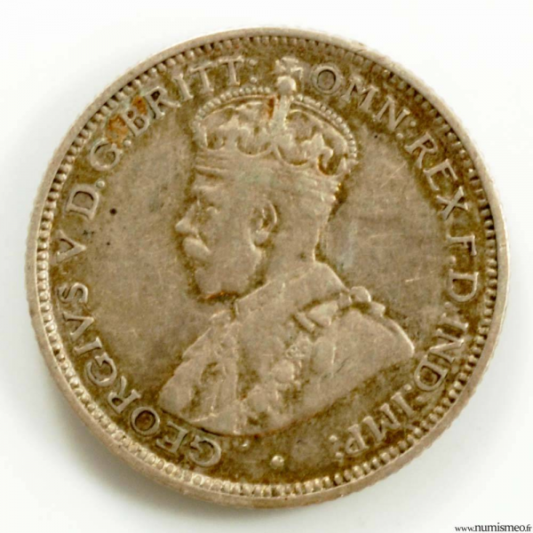 Australie 6 pence 1911