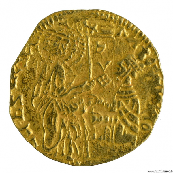 Grece Chios Antonio Vernier imitation du ducat de Venise