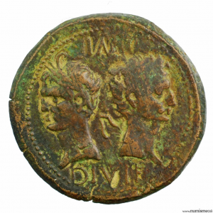 As de Nîmes du 1er Type Auguste et Agrippa