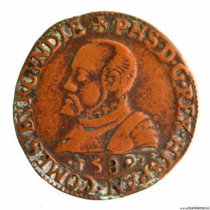 Bourgogne jeton de la chambre des comptes de Dôle 1589