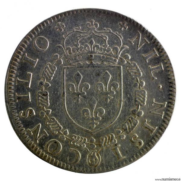 Henri III AR Jeton 1581 conseil du roi