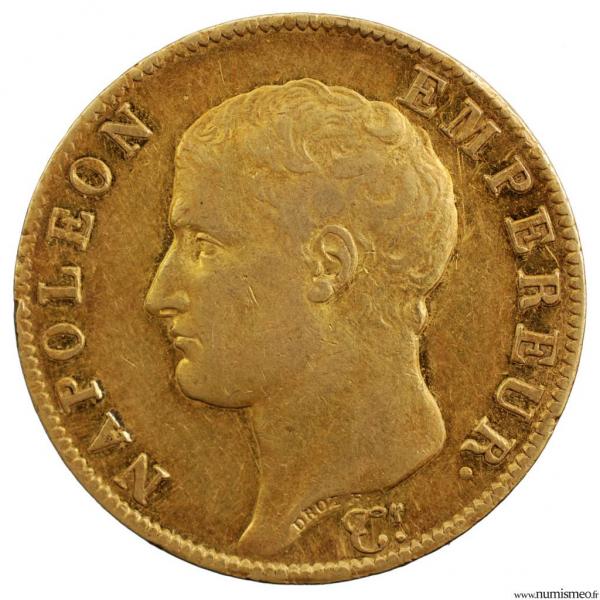 Napoleon I 40 francs 1806 Turin