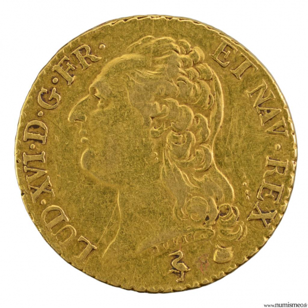 Louis XVI louis 1785 Paris