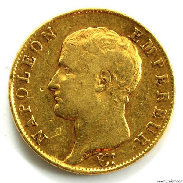 Napoleon I 40 Francs 1806 I