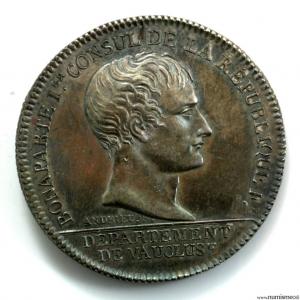 Napoléon I AR jeton An XI chambre de commerce d'Avignon