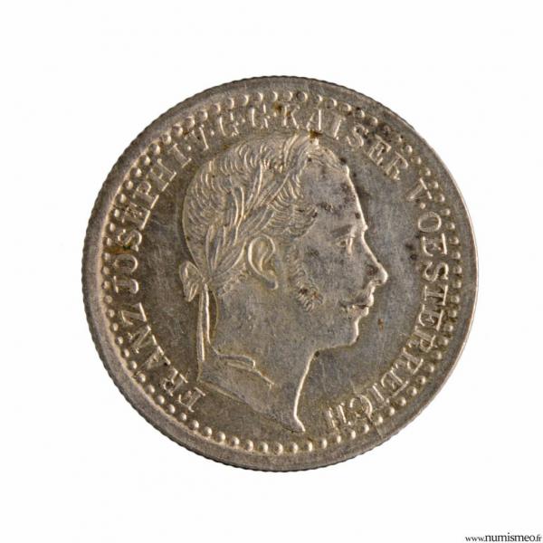 Autriche 5 Kreuzer 1859 A