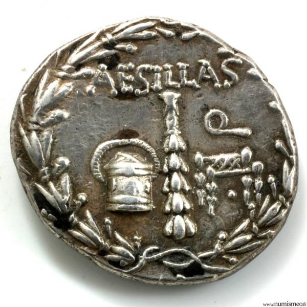 Macédoine tetradrachme de Thessalonique pour Aesillas