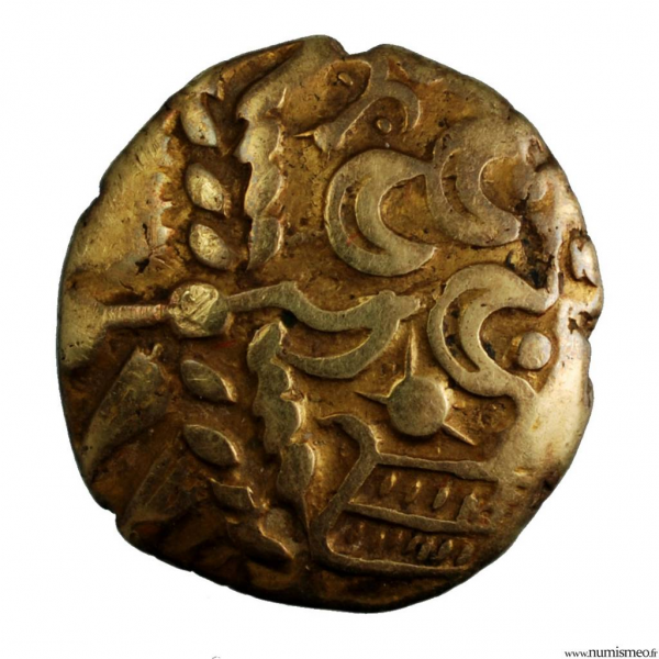 Suessiones statère d'or type à l'ancre