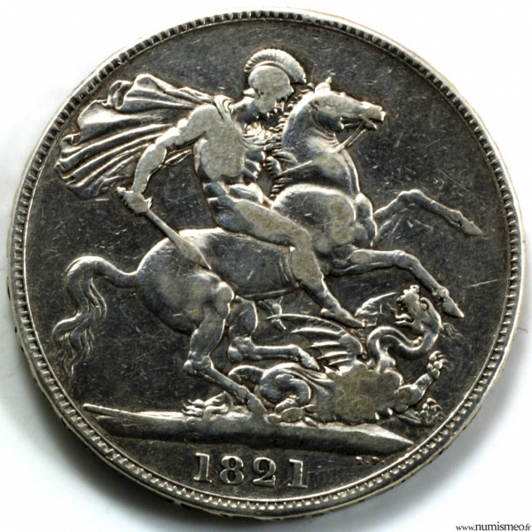 Grande Bretagne Crown 1821