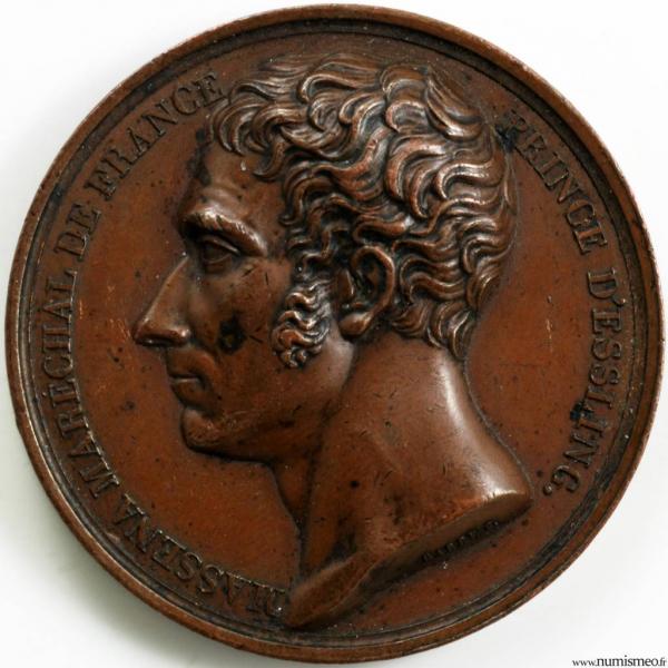 Médaille pour la mort de Massena