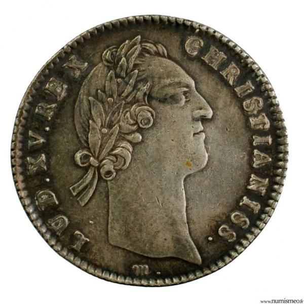 Louis XV jeton du trésor royal 1756