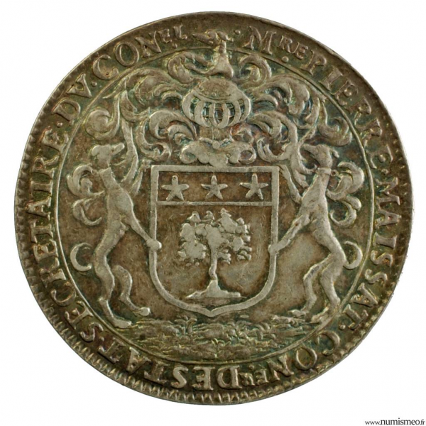 Paris AR Jeton 1665 P. Maissat Conseiller d'état