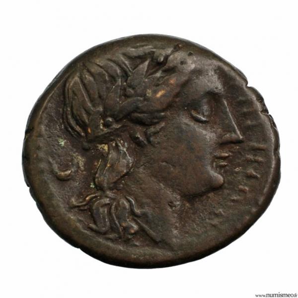 Bruttium Rhegium bronze