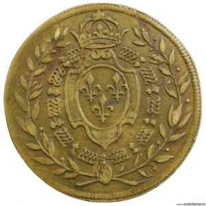 Henri II jeton de la chambres des comptes du roi 1556