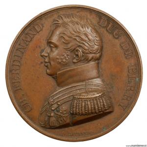 Médaille du Duc de Berry