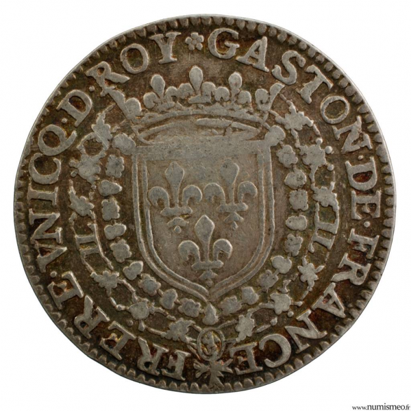Jeton Orléanais Gaston frère de Louis XIII