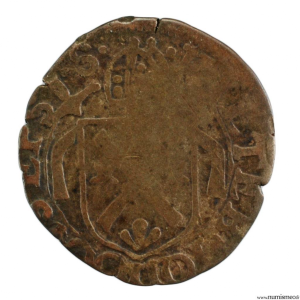 Suisse Eveché de Sitten 1/2 Batzen 1624