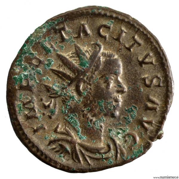 Tacite antoninien frappé en Gaule