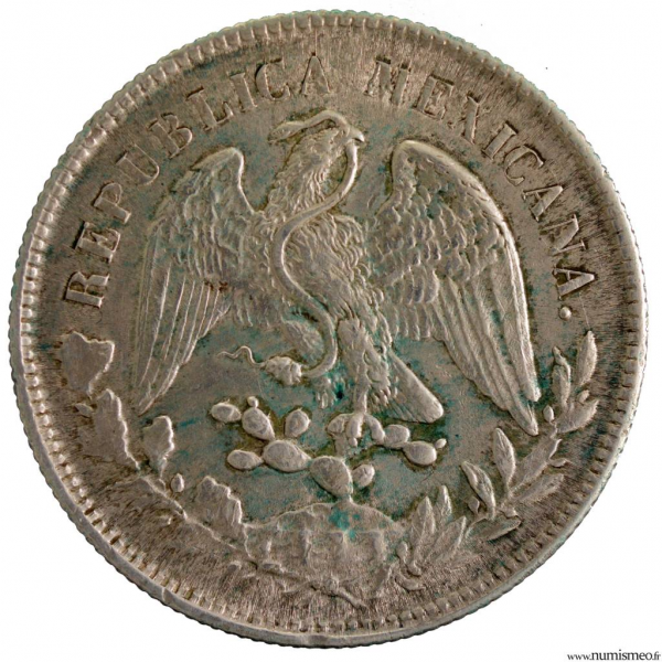 Mexique Peso 1902 ZS