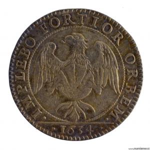 Jeton du conseil du roi 1634