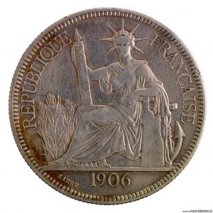 Indochine Piastre 1906