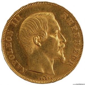 Napoléon III 50 francs 1857 Paris