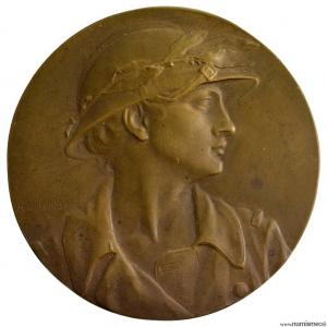 L'echo de Paris médaille en bronze