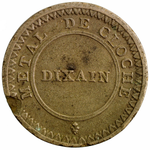 Dixain de Rochon 1791 de Lyon