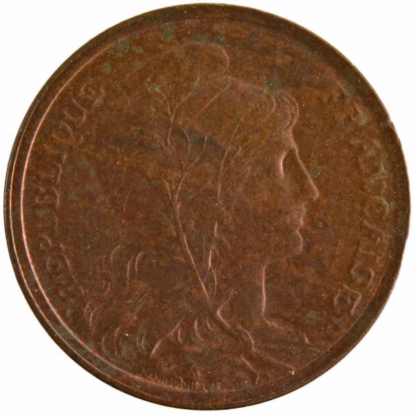 II République 1 centime 1904