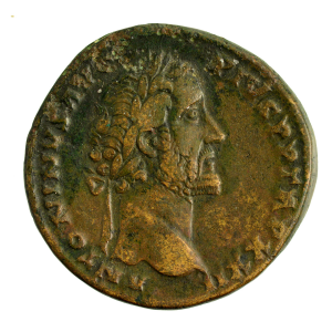 Sesterce d'Antonin le Pieux