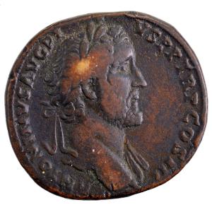 Antonin le Pieux sesterce revers IMPERATOR II