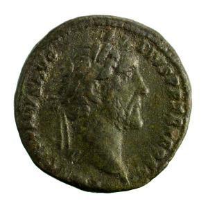 Antonin le Pieux AE as revers PAX AVG