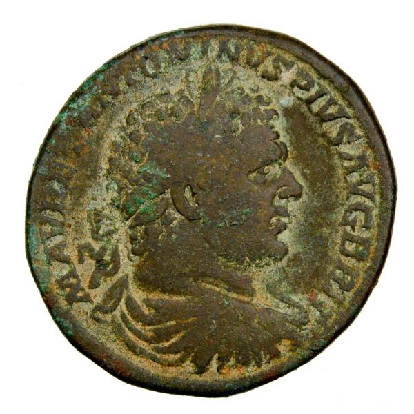 Caracalla sesterce frappé en 213