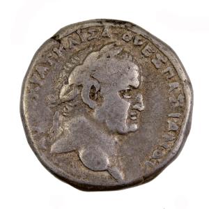 Vespasien tetradrachme de Syrie frappé à Antioche sur Oronte