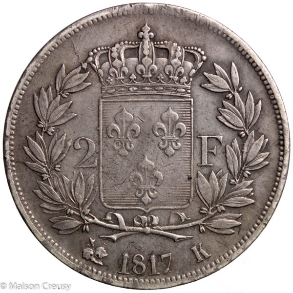 LouisXVIII-2francs1817K