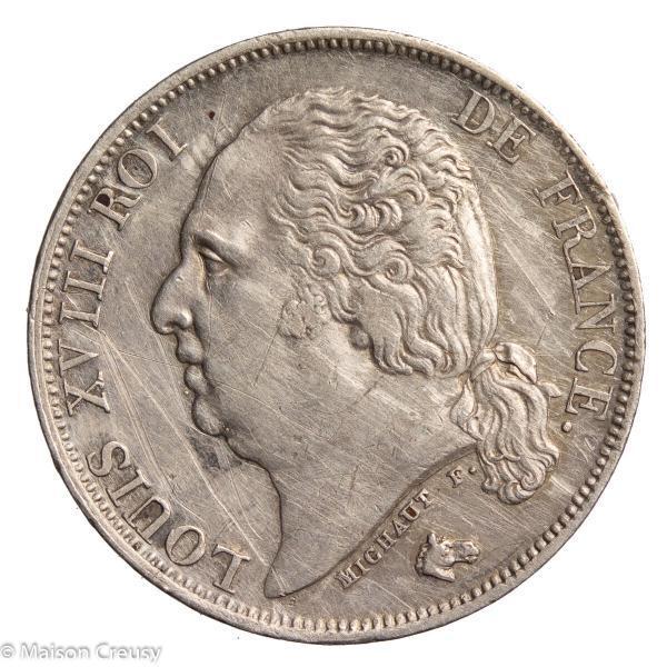 LouisXVIII-franc1817A