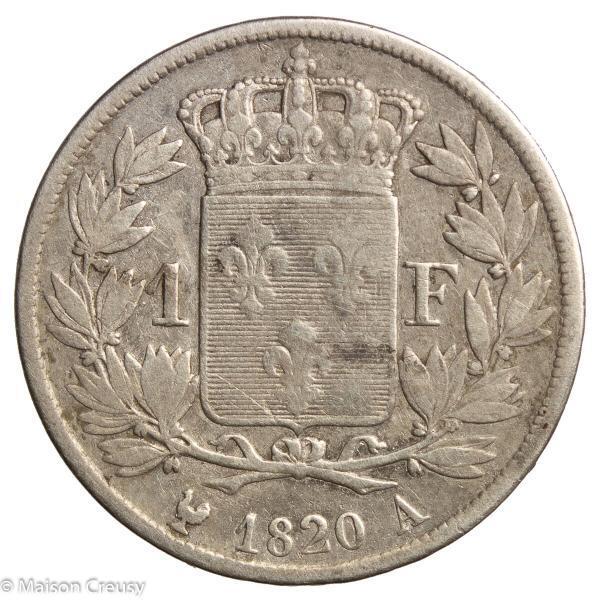 LouisXVIII-franc1820A