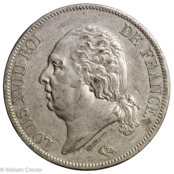 LouisXVIII-5francs1823L