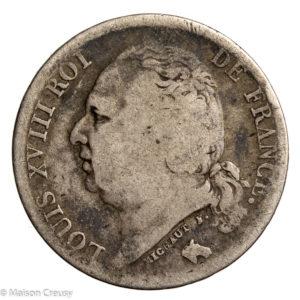 LouisXVIII-franc1823W
