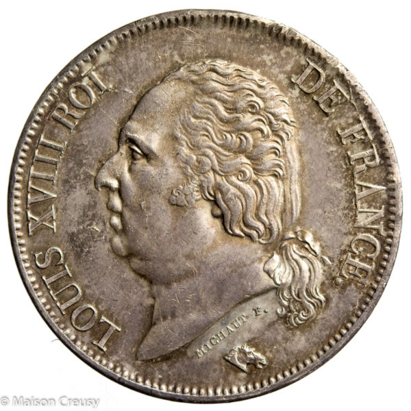 LouisXVIII-5francs1824M