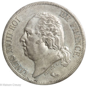 LouisXVIII-5francs1824W