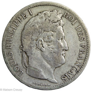Louis Philippe 5 francs 1831 La Rochelle