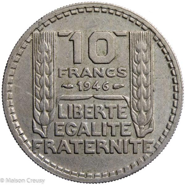 10Francs1946