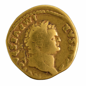 Titus aureus struck in Rome